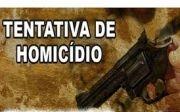 Dupla em moto tentou matar rapaz em Quirin�polis.