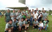 Comercial Campe�o/Express Assessoria � Campe�o do Carnaval Esportivo no Futebol Society.