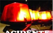 Carro choca contra ca�amba e motorista fica ferido, em Quirin�polis