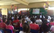 Hurso leva a Campanha Outubro Rosa para alunos de escola p�blica