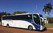Prefeitura de Inaciolândia adquire ônibus para o transporte universitário.