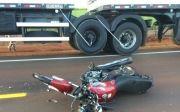 Acidente em rodovia matou motociclista
