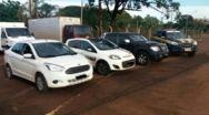 PRF intercepta comboio de carros roubados em Quirinópolis, Acreúna e Jataí.