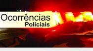 Ocorrências registradas pela Polícia Militar no fim de semana.