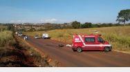 Motociclista morre ao chocar de frente com caminhão caçamba