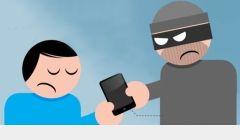Dois celulares roubados em Quirinópolis.