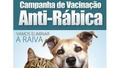 Campanha de Vacinação contra a Raiva em Cães e Gatos 2018