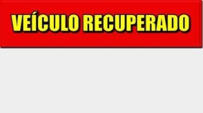 PM recupera ve�culo furtado em Quirin�polis